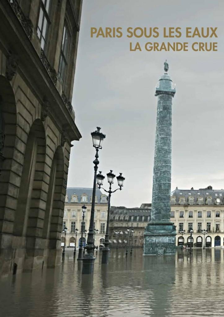 Jaquette Paris sous les eaux